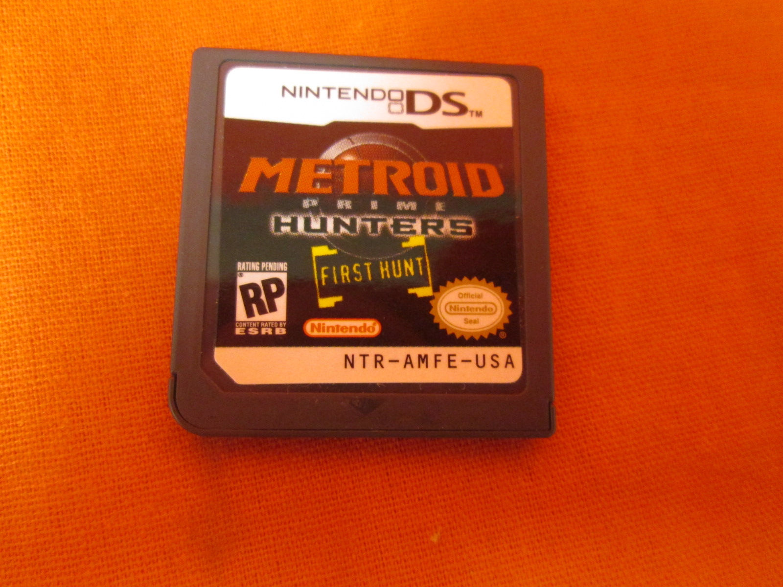 Metroid Prime Hunters First Hunt Not For Resale For Nintendo DS DSi