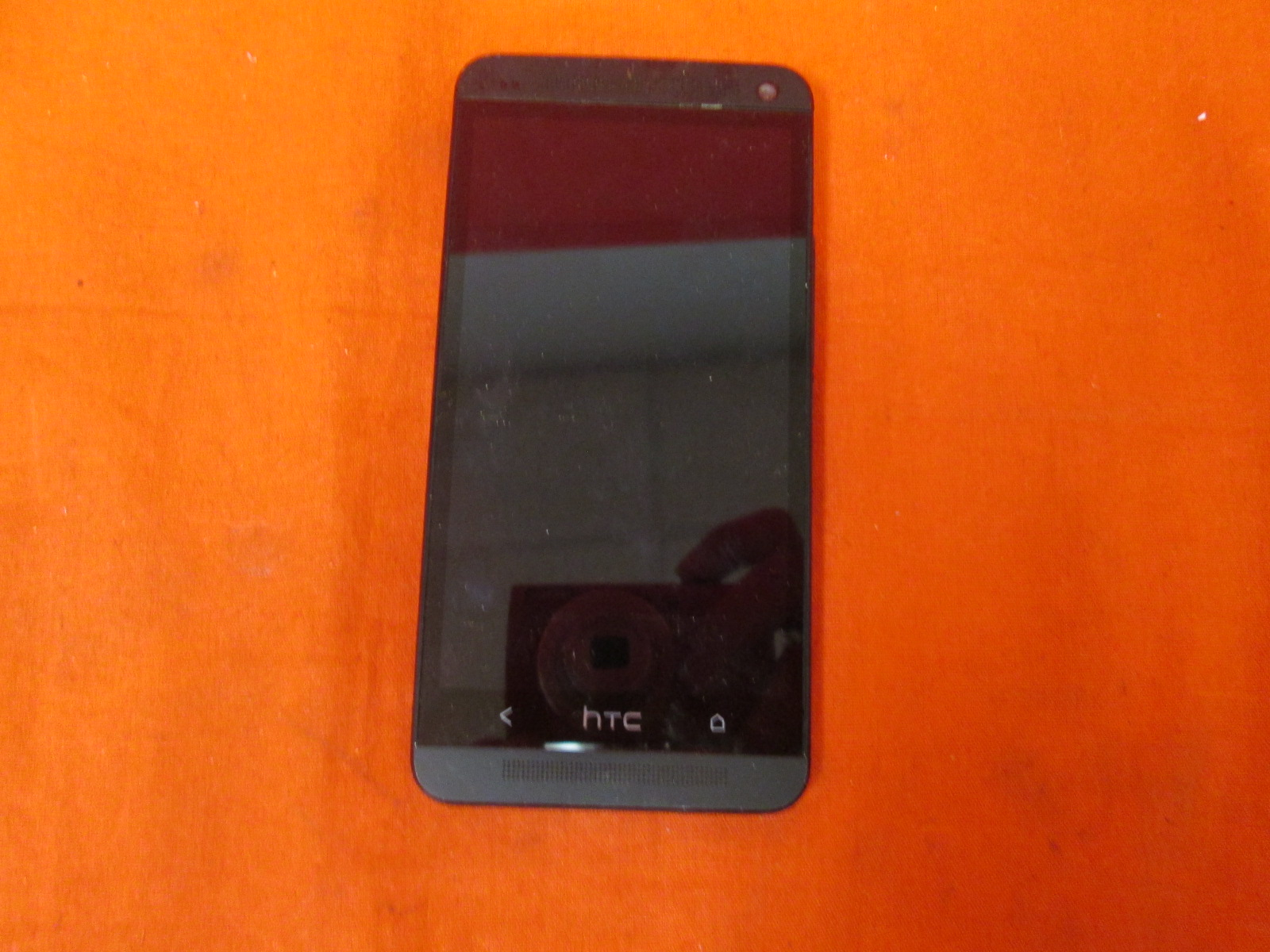 HTC One M7 Cellphone 32GB Black Broken