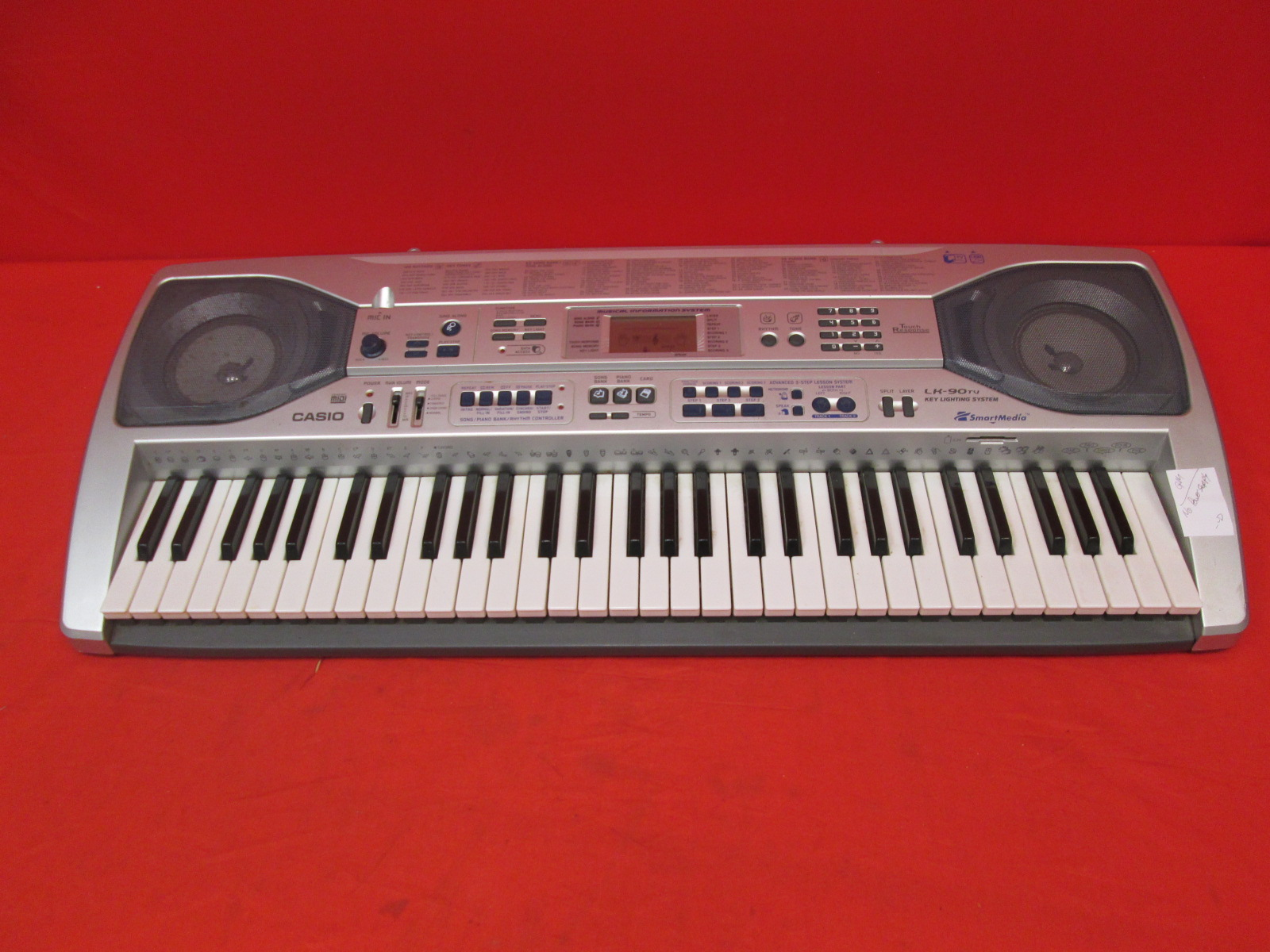 Casio LK-90TV 61 Key Lighted Keyboard Incomplete