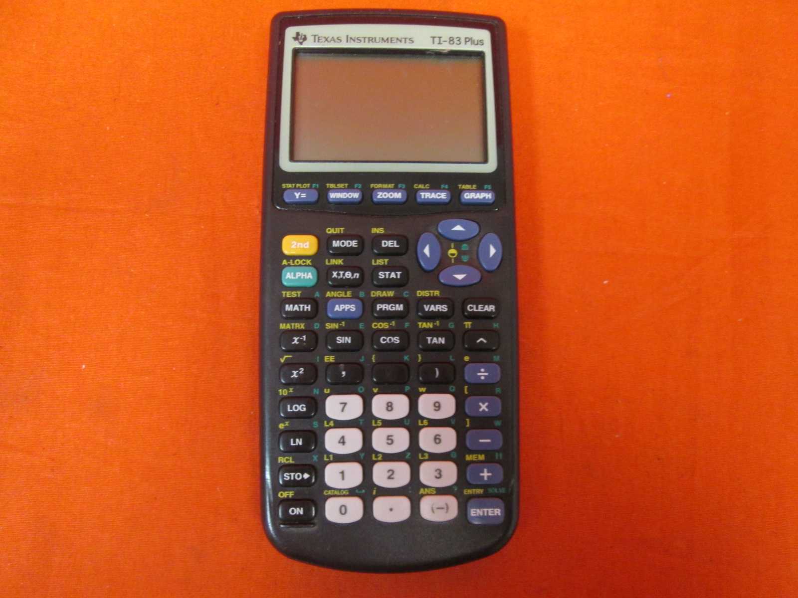 Texas Instruments TI-83 Plus Graphing Calculator Broken