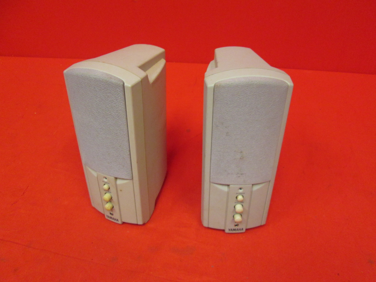 Image 0 of Yamaha YST-M7 Powered Multimedia Computer Speakers Beige Incomplete