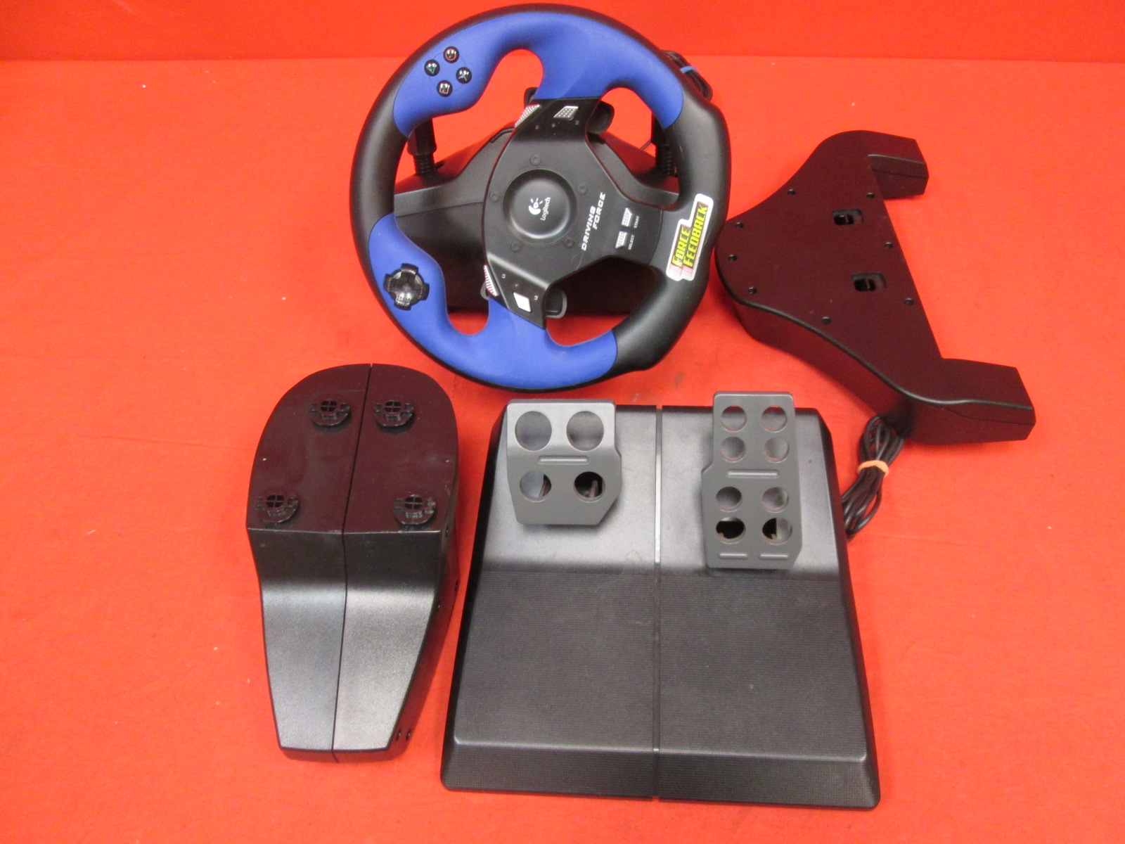 Image 0 of Logitech Driving Force Wheel For PlayStation 2 Incomplete