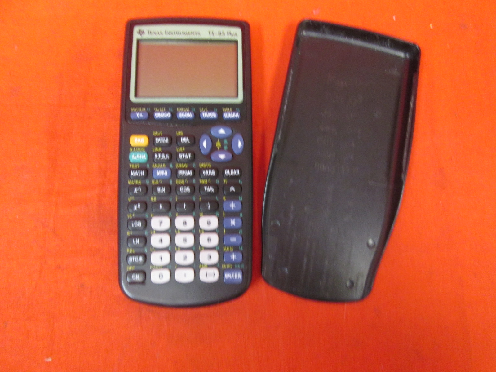 Texas Instruments TI-83 Graphing Calculator Broken