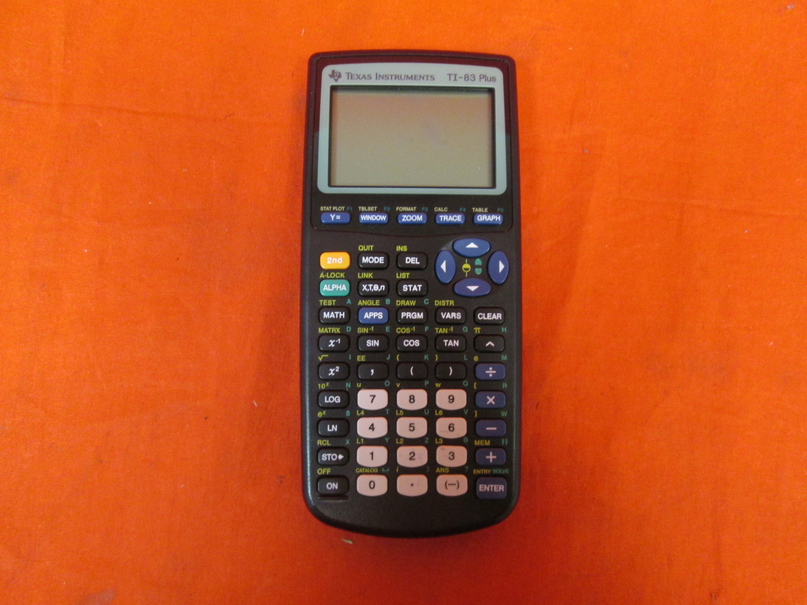 Texas Instruments TI-83 Plus Programmable Graphing Calculator Broken