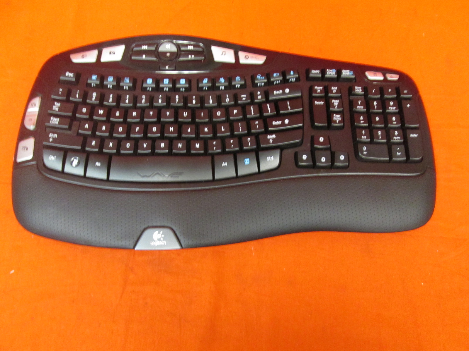 Logitech K350 2.4GHZ Wireless Keyboard Only No Receiver