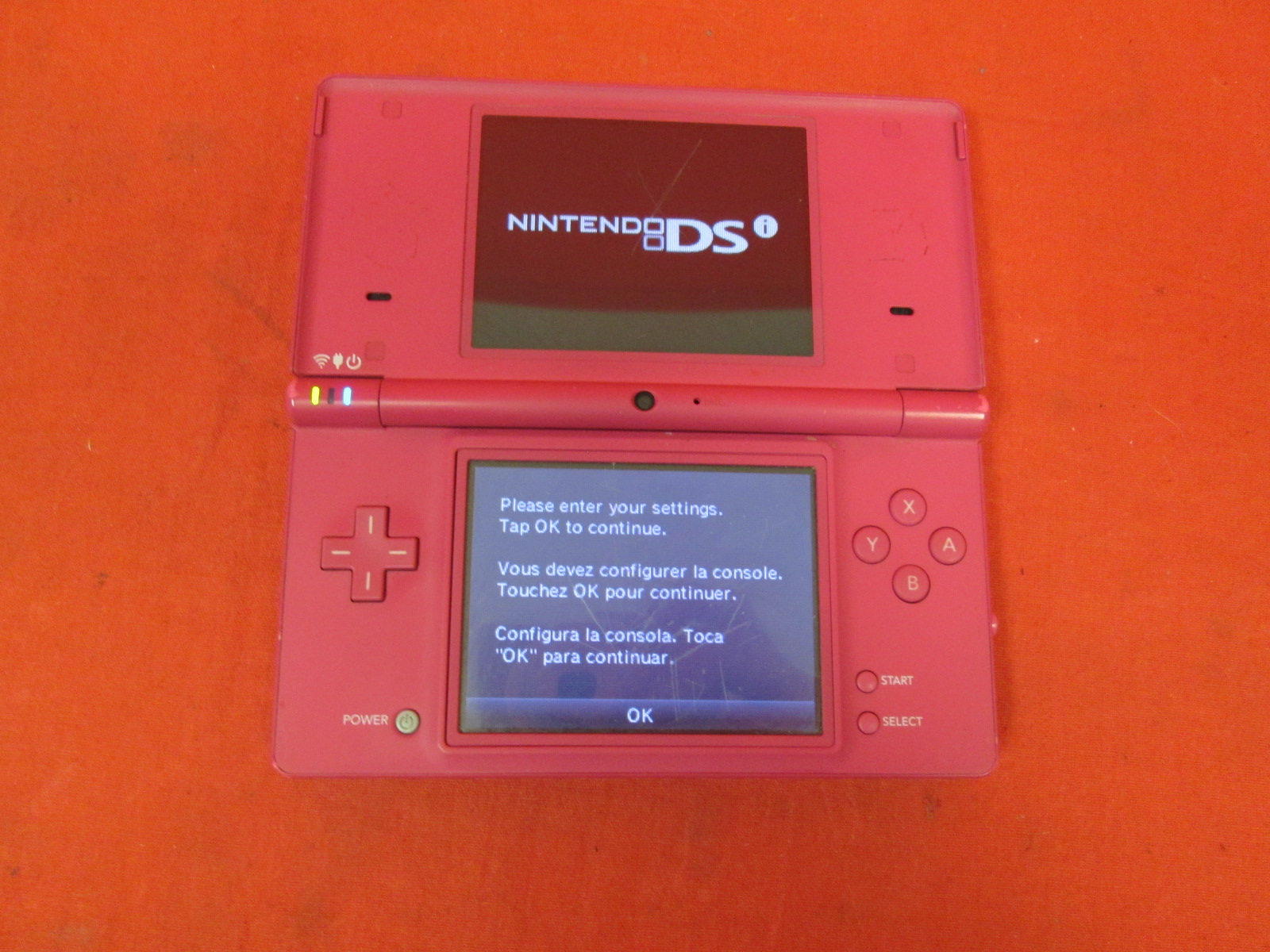 Nintendo DSi Pink Handheld Console Only