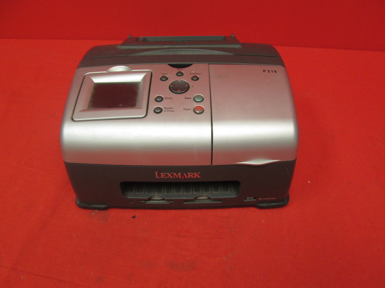 Lexmark P315 Snapshot Photo Inkjet Printer 4X6