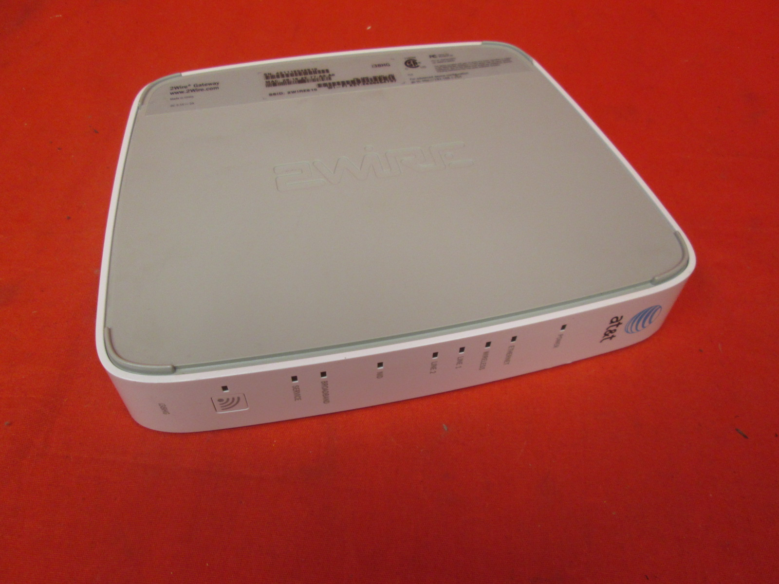 2WIRE Gateway Ethernet Router Model 2701HG-B Incomplete