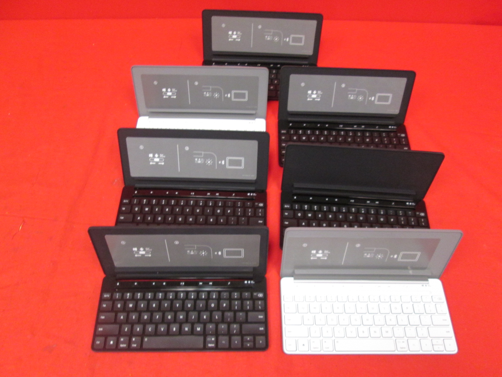 Broken Lot Of 7 Microsoft Universal Mobile Keyboards For iPad iPhone