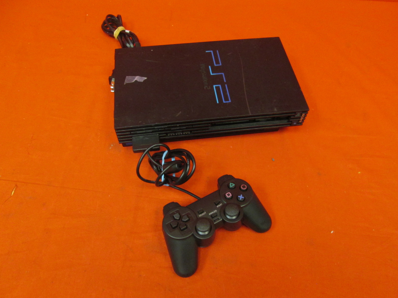PlayStation 2 Video Game Console Black