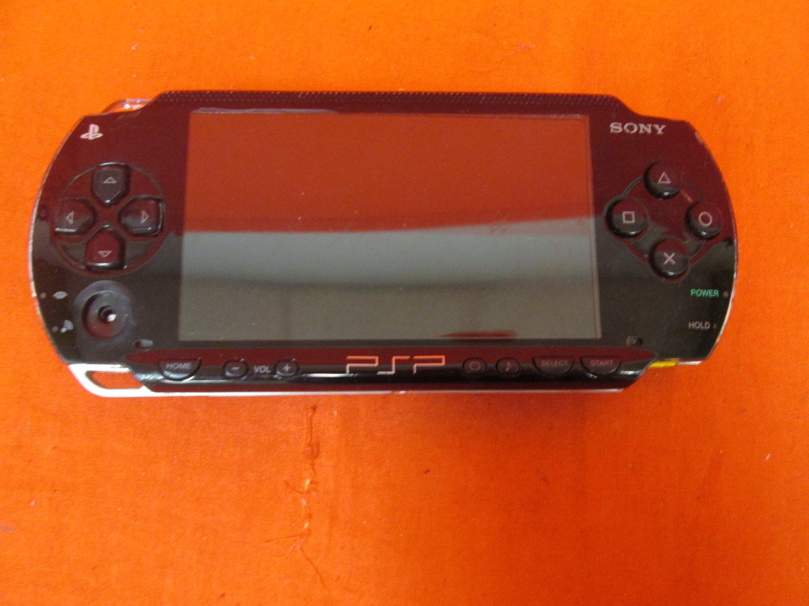 Image 0 of Broken Sony PSP-1001K PlayStation Portable PSP System Black