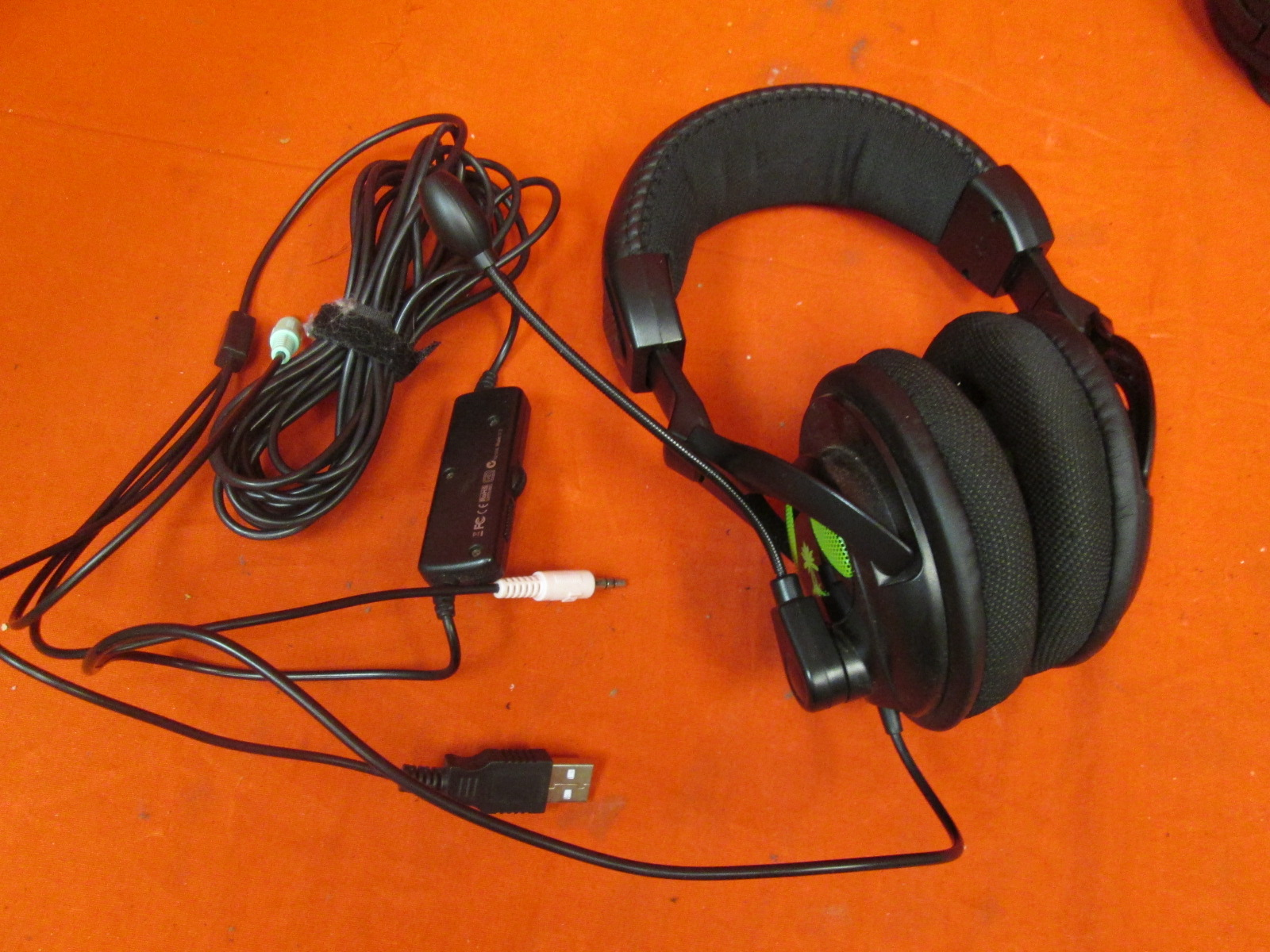 Turtle Beach Ear Force X12 Amplified Stereo Gaming Headset For Xbox 36