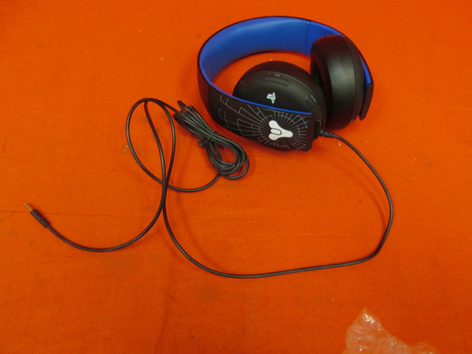 PlayStation Wired Destiny Stereo Headphones For Tournament Rare