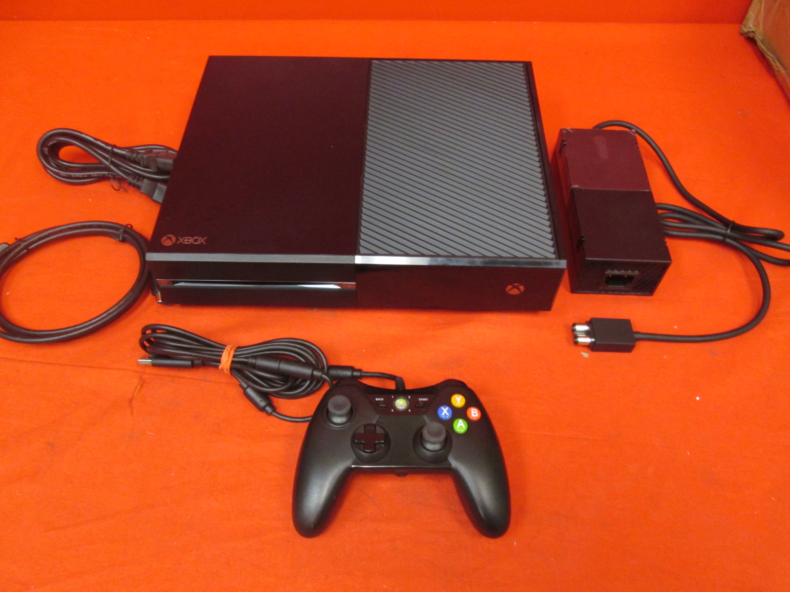 Image 0 of Xbox One 500 GB Console Black With Wired Controller
