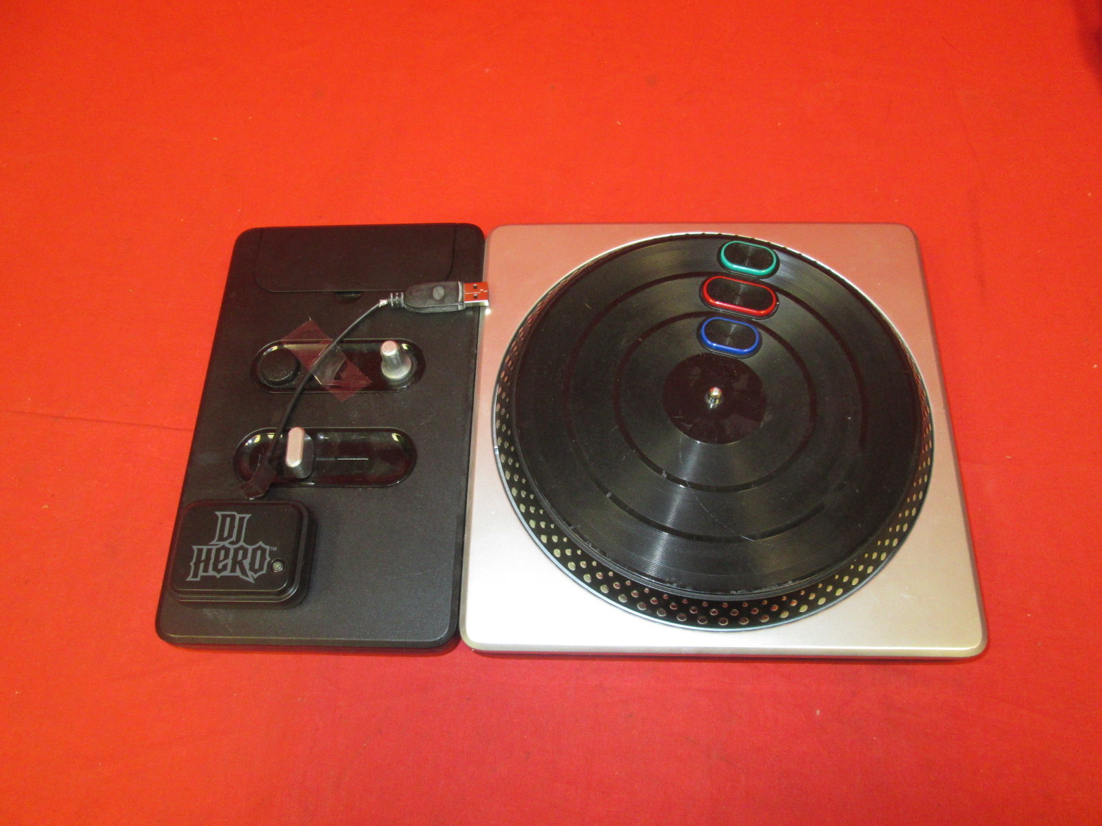 PS3 DJ Hero Turntable For PlayStation 3