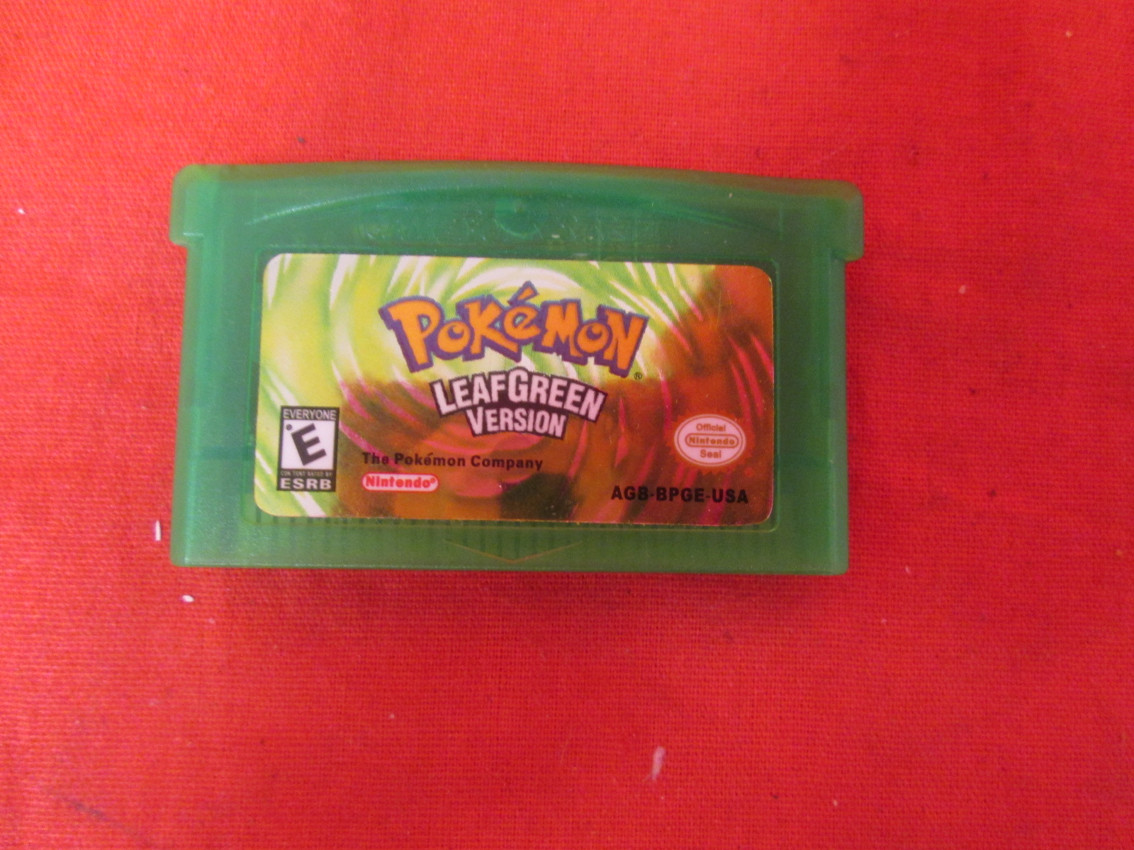 Pokemon Leaf Green Version For GBA Gameboy Advance