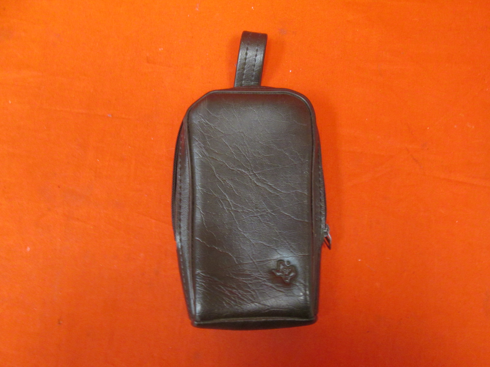 Brown Leather Travel Case For Texas Instruments TI-83 TI-84 Calculator