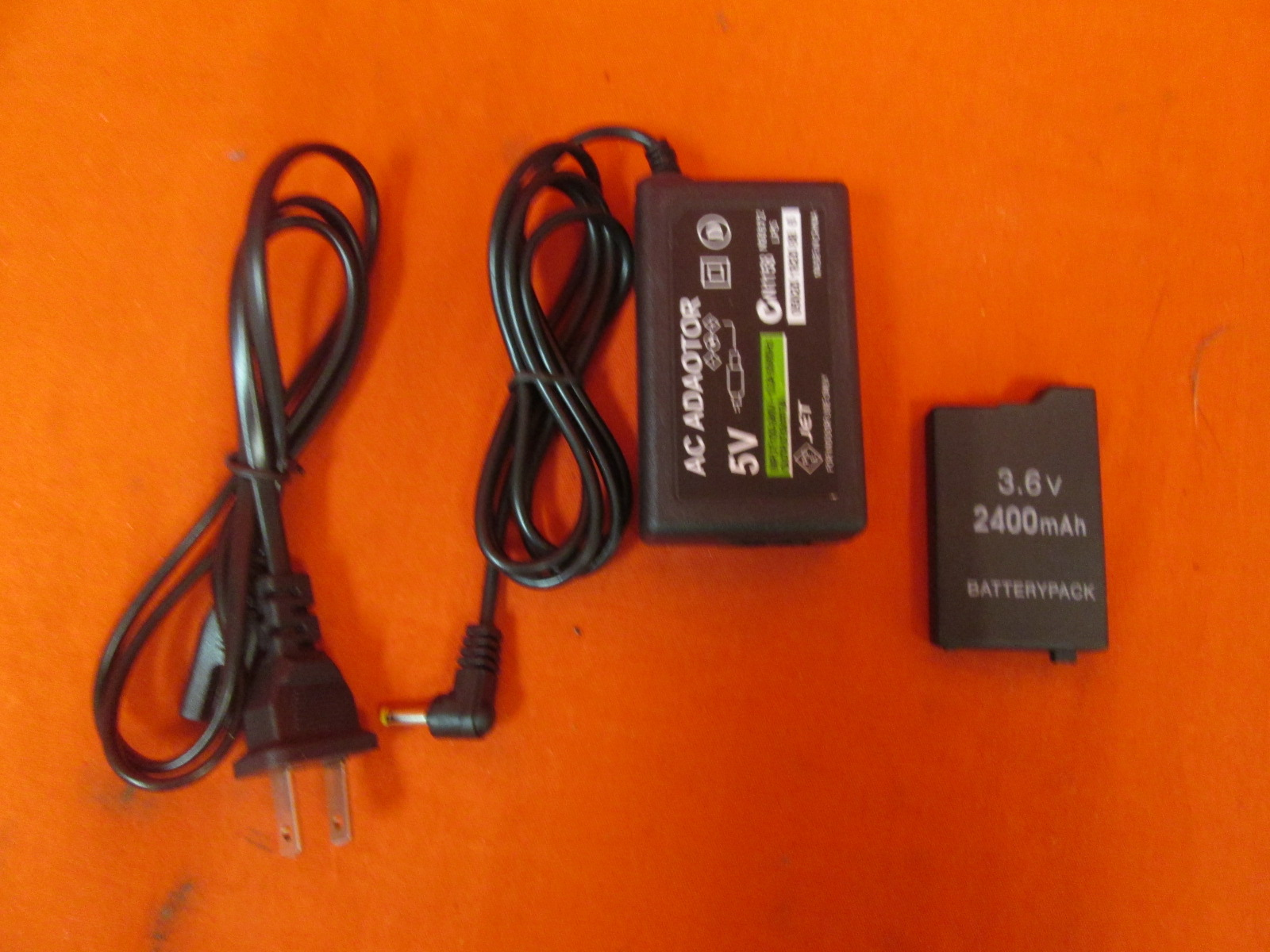 Home Travel Wall AC Charger And Battery Pack For Sony PSP 2000 And PSP