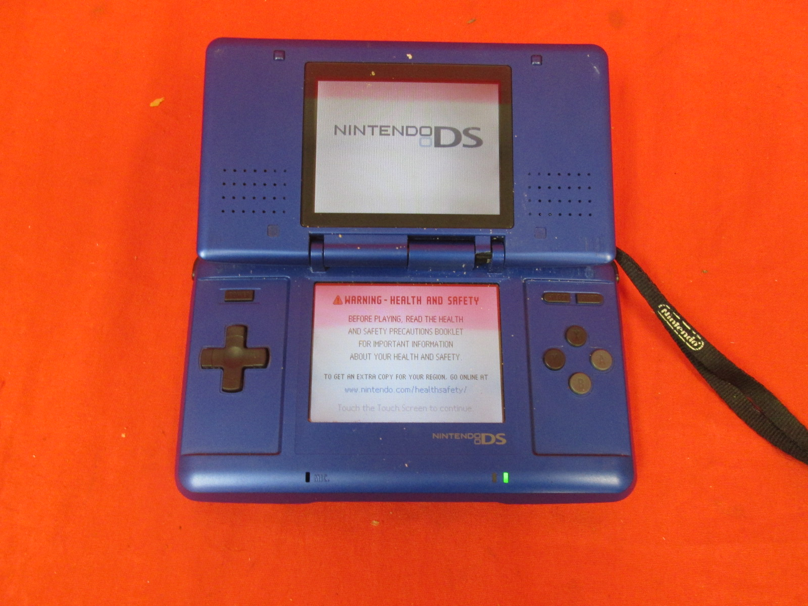 Nintendo DS Electric Blue Handheld Console