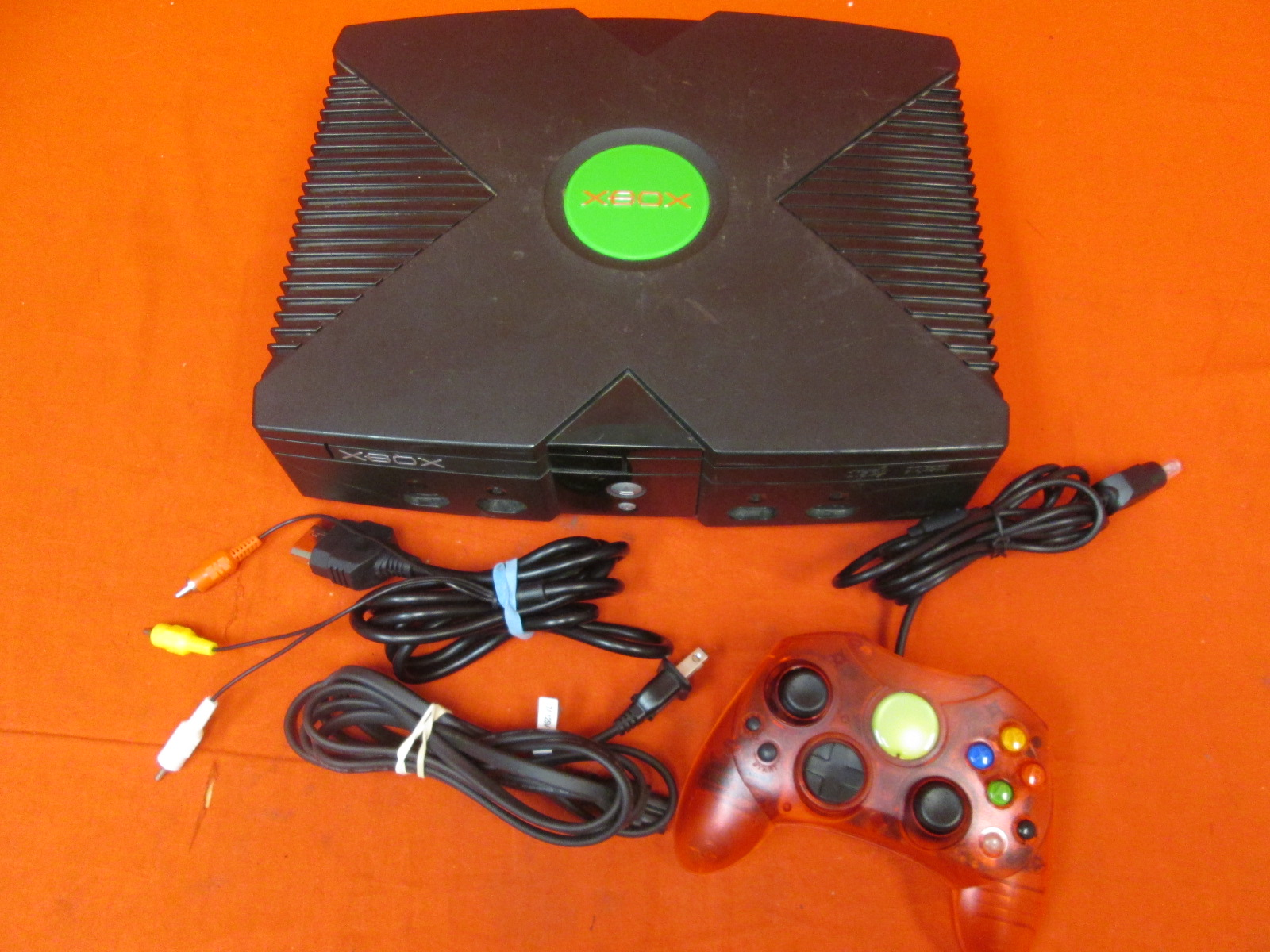 Original Xbox Console With Controller