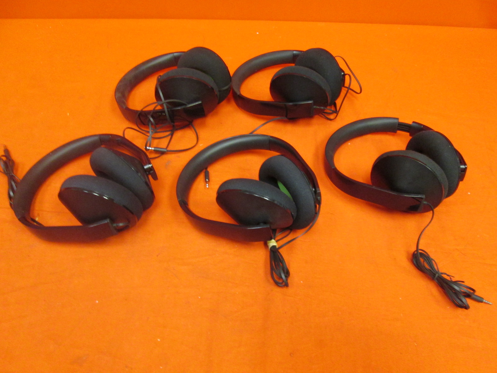 Broken Lot Of 5 Stereo Headset For Xbox One