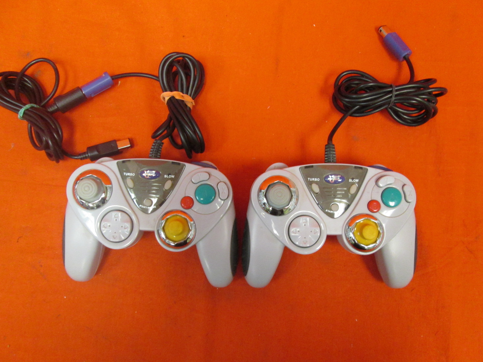 Lot Of 2 Dreamgear Controllers For N64