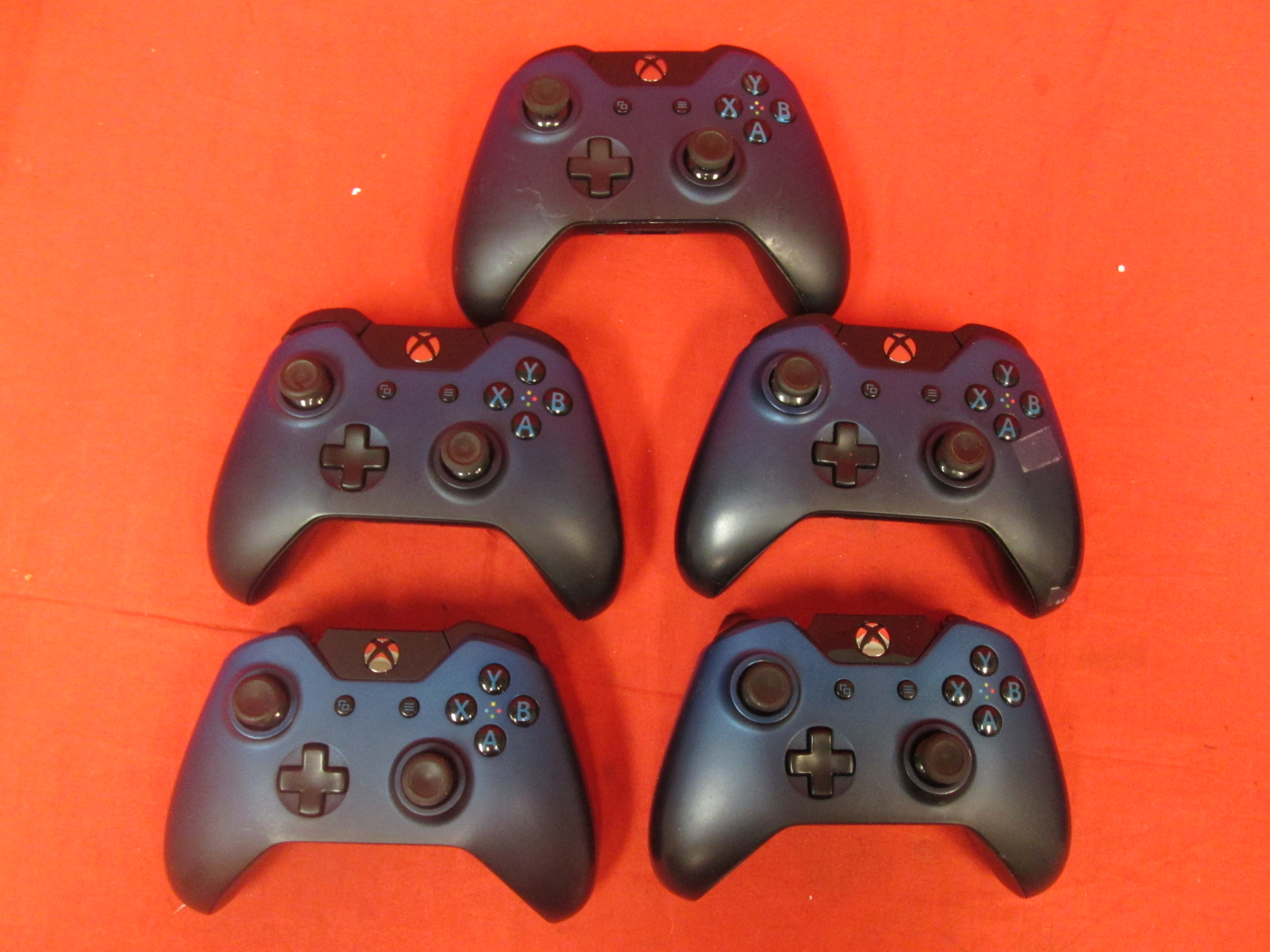Lot Of 5 Special Edition Dusk Shadow Wireless Controller Without