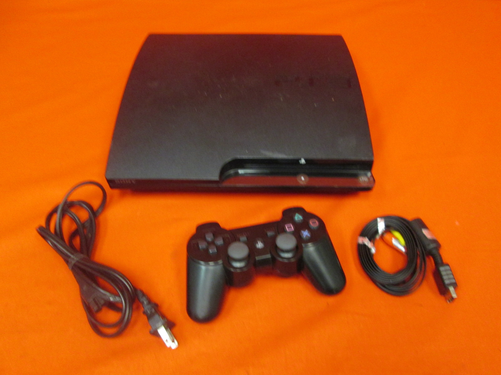 Image 0 of Sony PlayStation 3 Slim 320 GB Charcoal Black Console