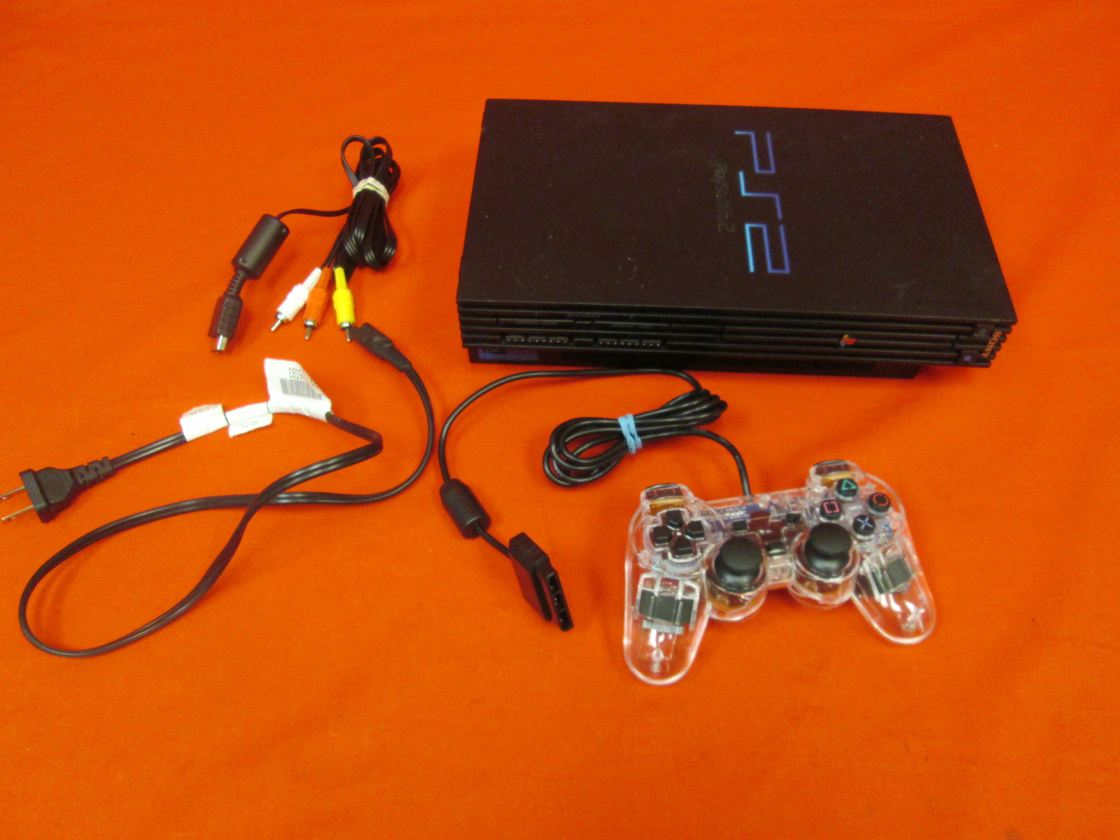 Image 0 of Sony PlayStation 2 Video Game Console Black