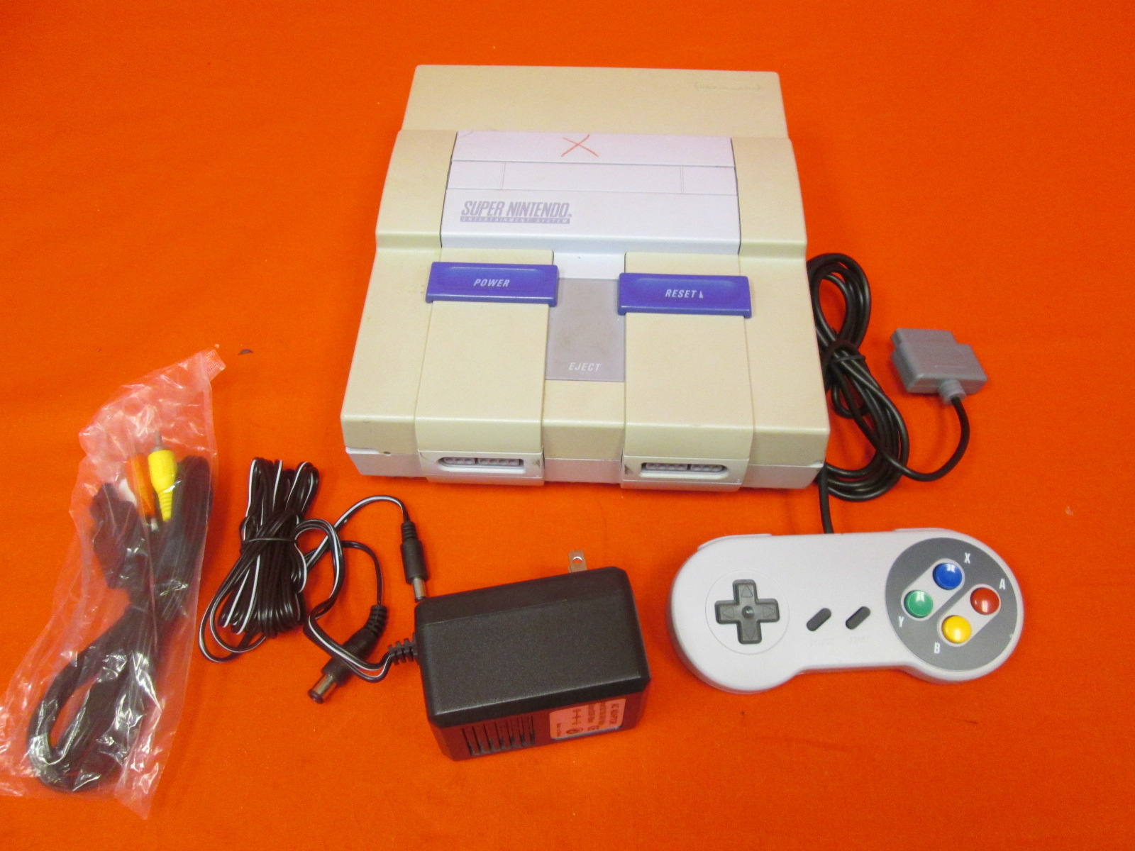 Image 0 of Super Nintendo SNES Video Game Console System