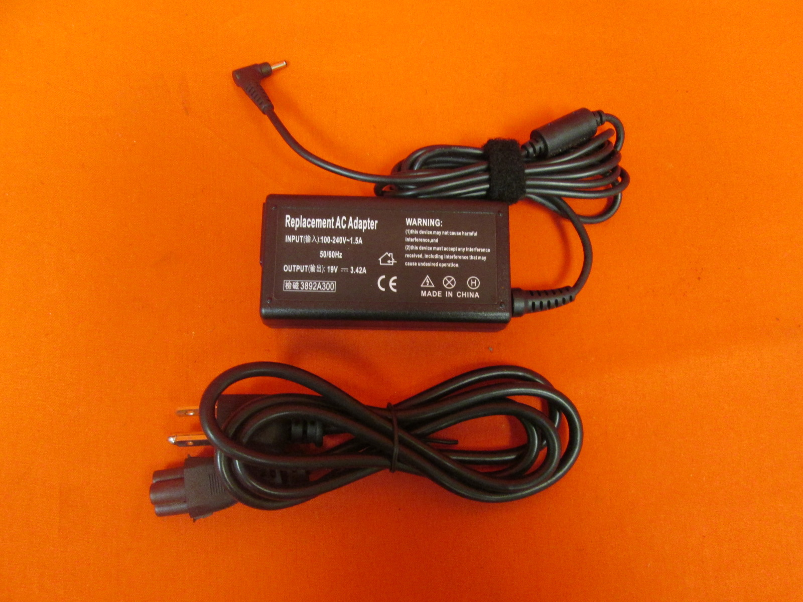AC Adapter Power Supply Charger Cord For Hp/compaq FZ823UA Pavilion DV