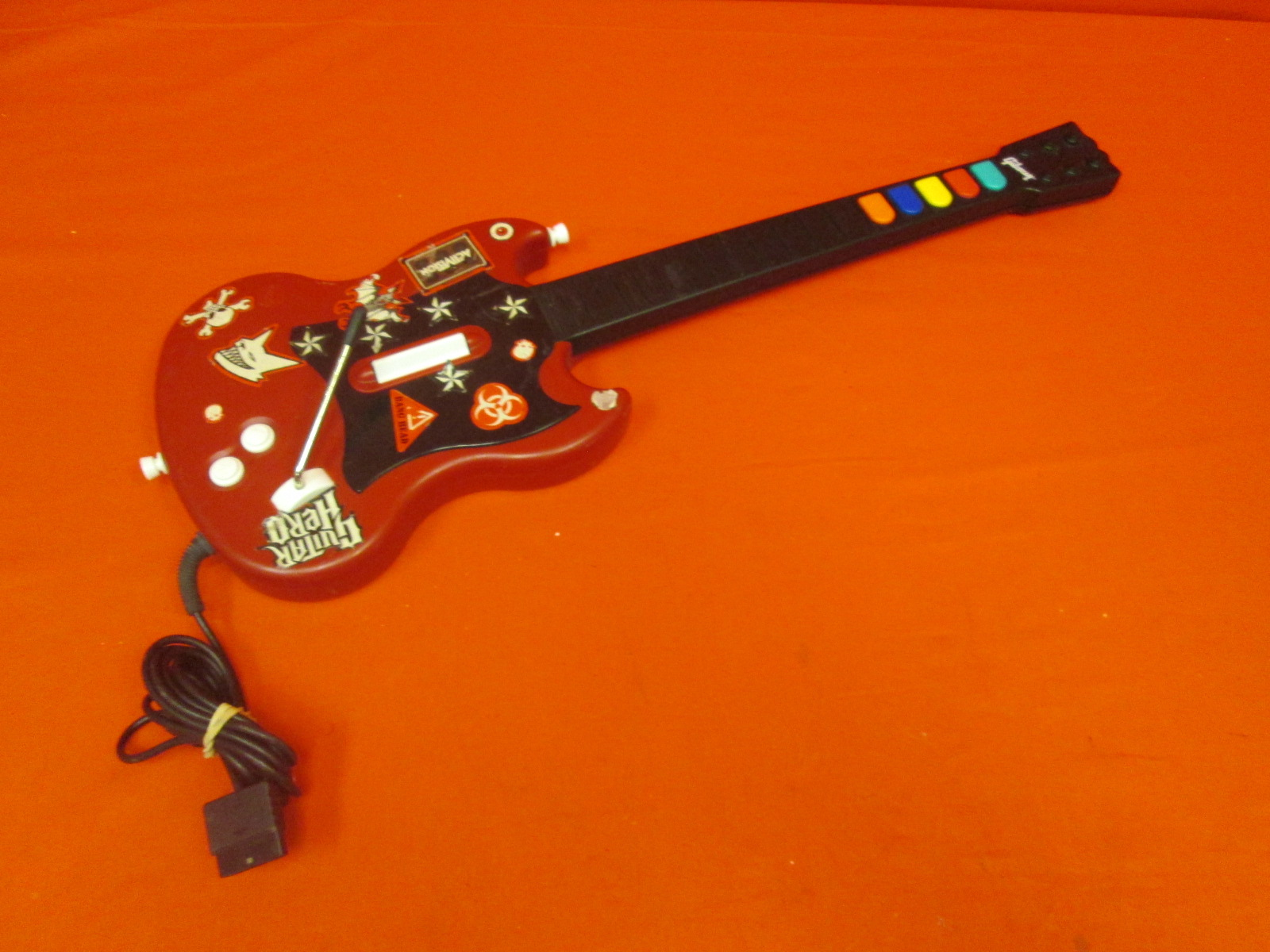 Cherry Guitar Hero Sg Controller For PS2