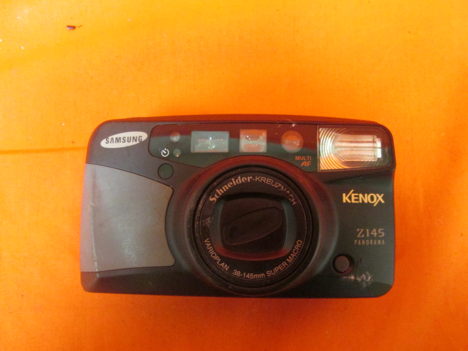 Samsung Kenox Z145 35MM Panorama Camera Incomplete