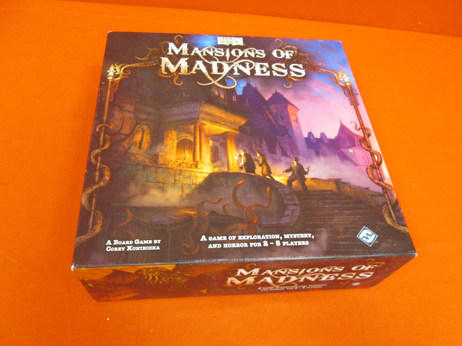 Mansions Of Madness Arkham Horror Fantasy Mystery Game Incomplete