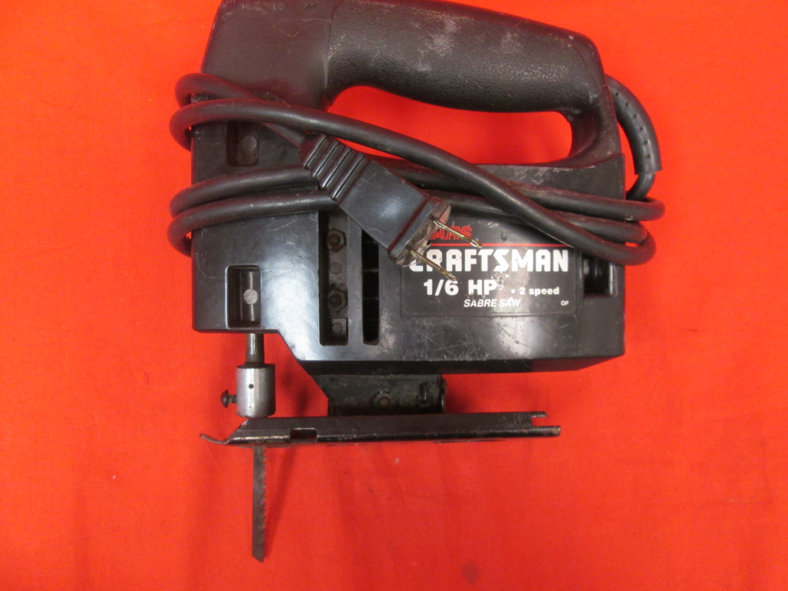Sears Craftsman 315.171400 1/6 HP 2 Speed Double Insulated 1/2 Stroke