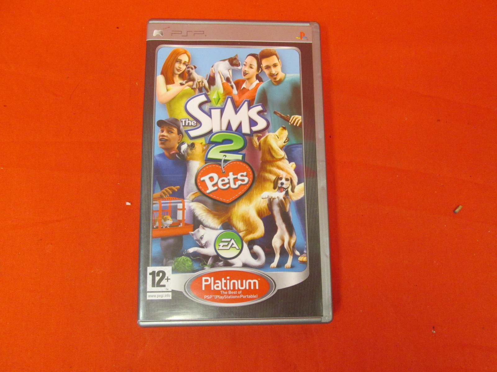 The Sims 2 Pets Platinum UK PAL Version For PSP