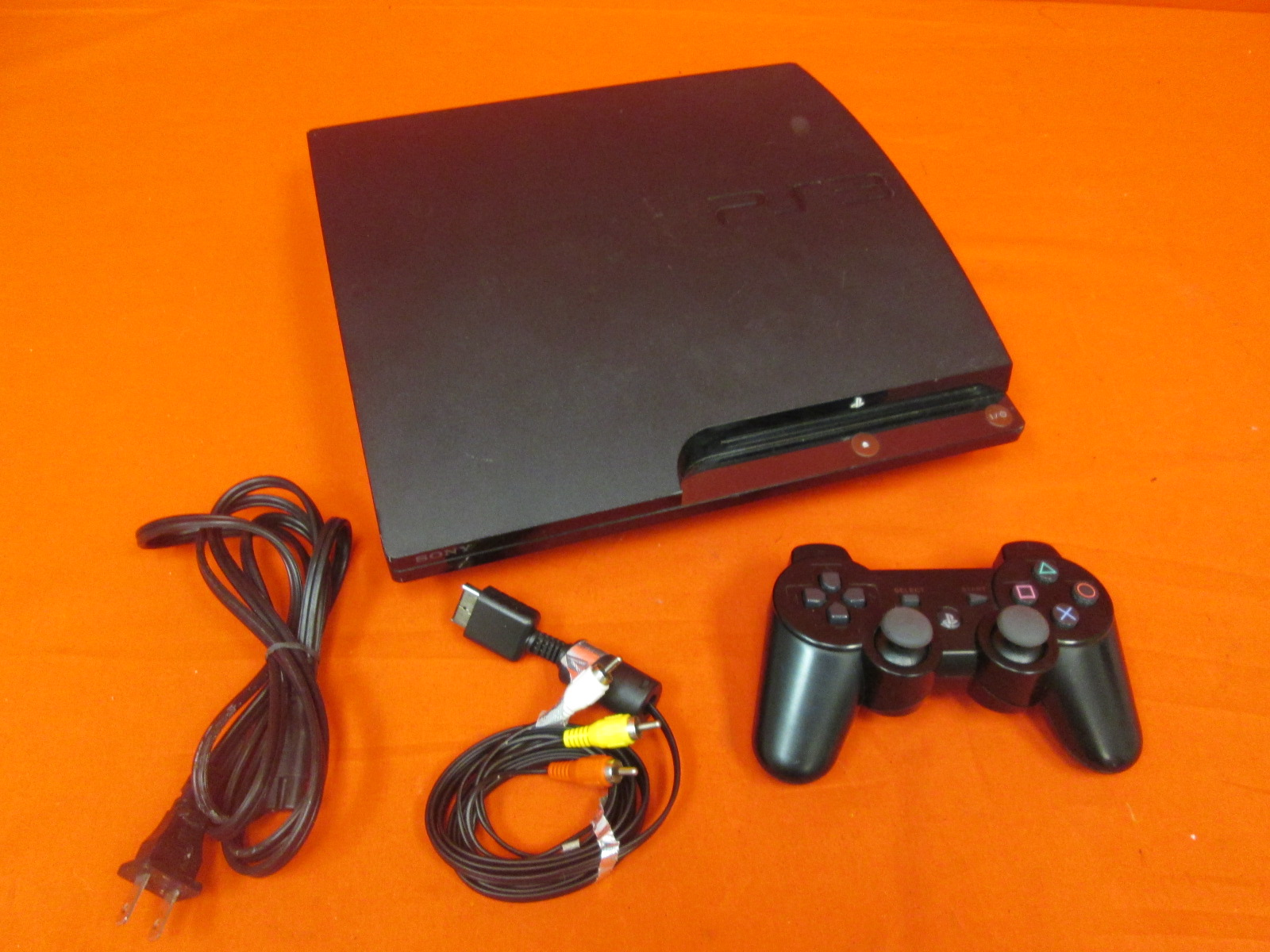 Image 0 of Sony PlayStation 3 Slim 160 GB Black Video Game Console