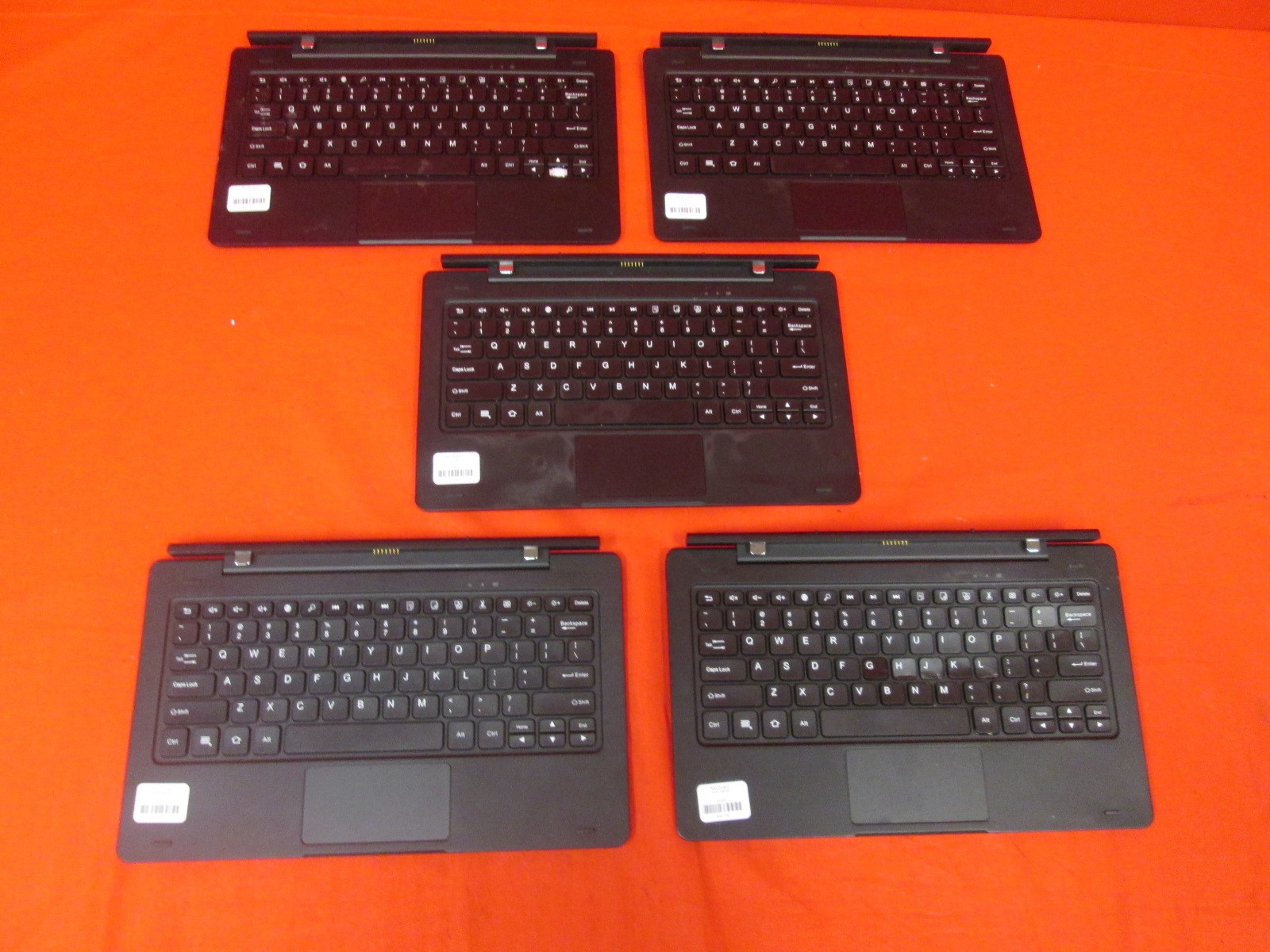 Image 0 of Untested Lot Of 5 Insignia Flex Keyboard NS-P11A8100 11.1