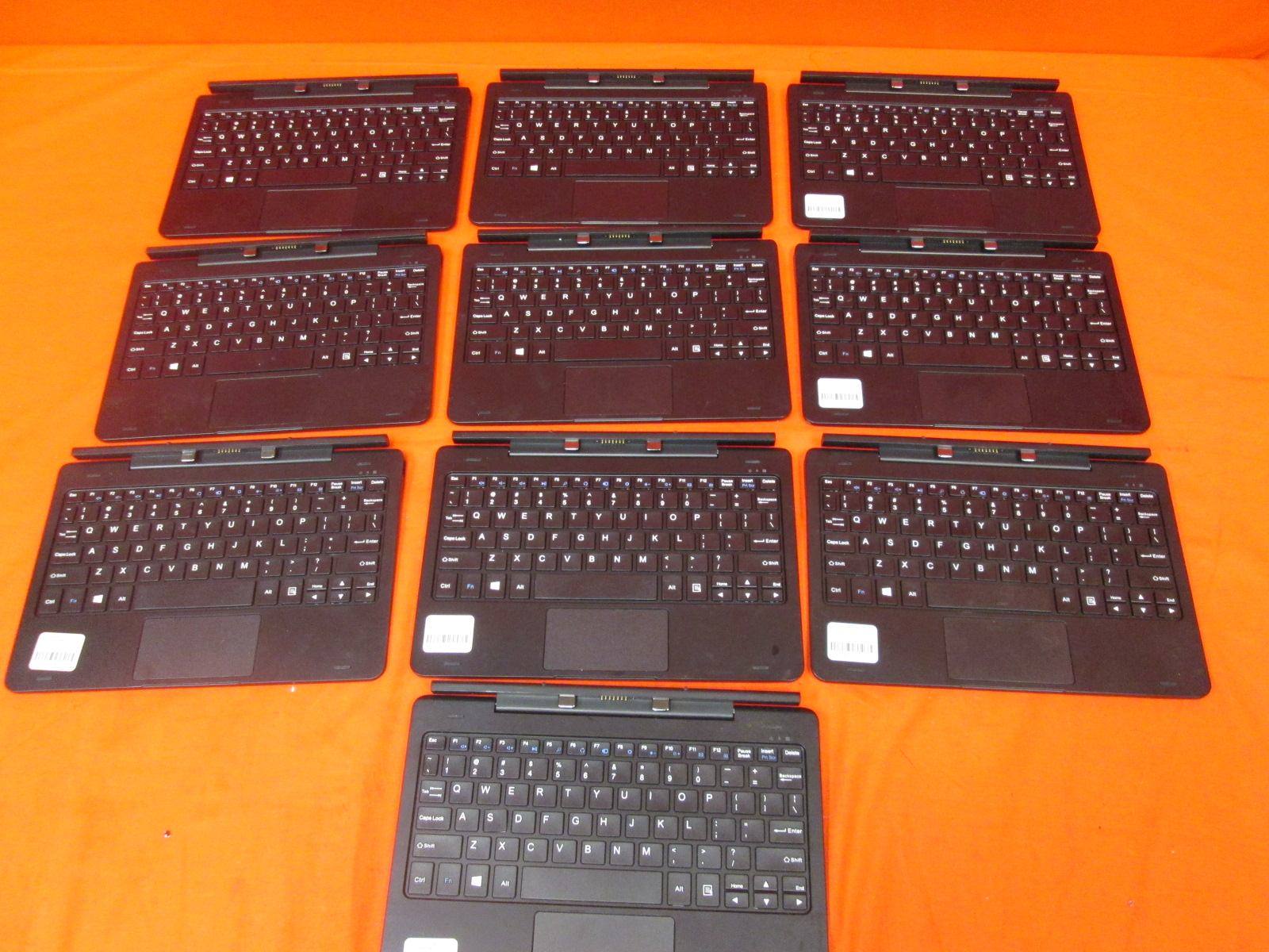 Image 0 of Lot Of 10 Insignia Flex Keyboard NS-P10W8100 10.1