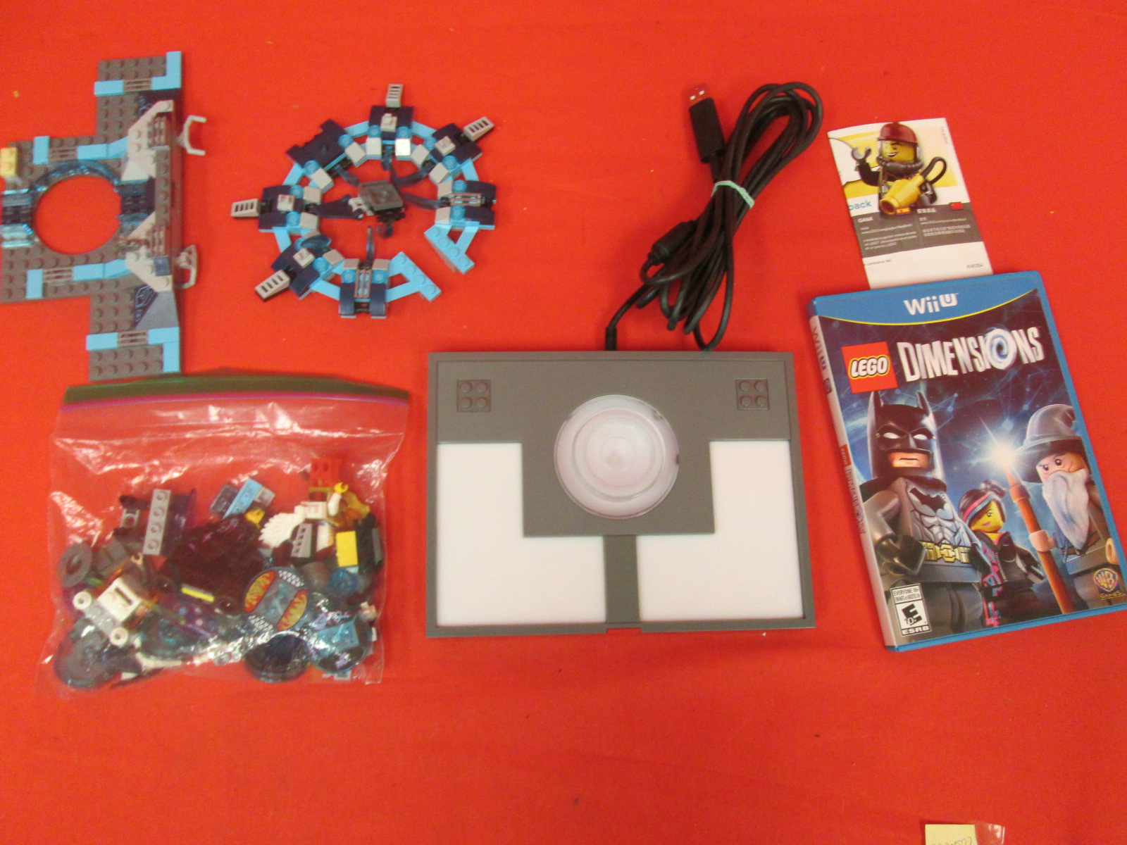 Lego Dimensions Starter Pack Incomplete For Wii U