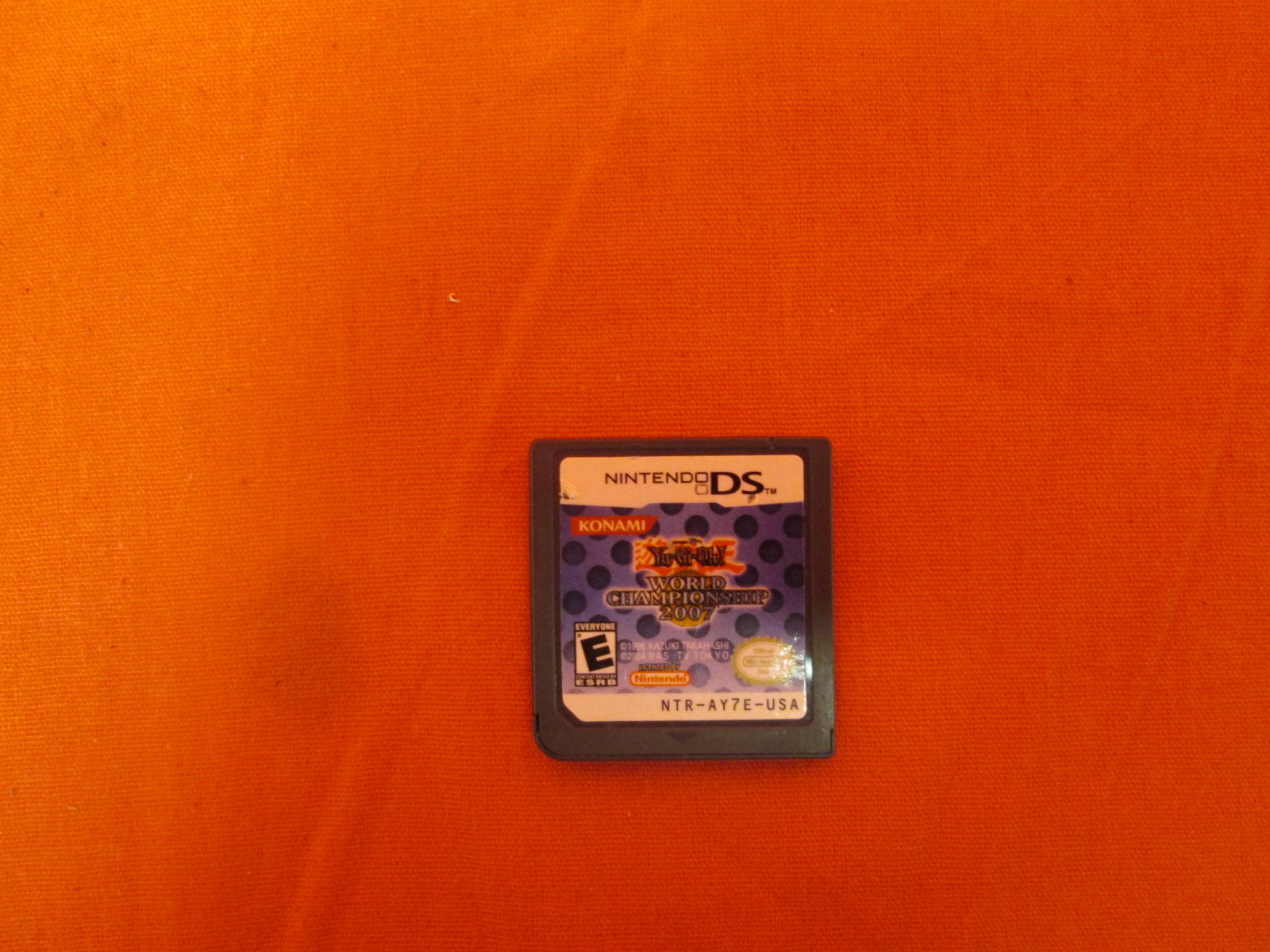 Yu-Gi-Oh World Championship 2007 For Nintendo DS DSi 3DS 2DS