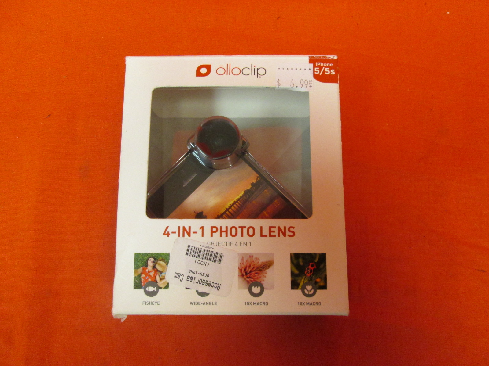 Olloclip 4-IN-1 Photo Lens For iPhone 5/5S
