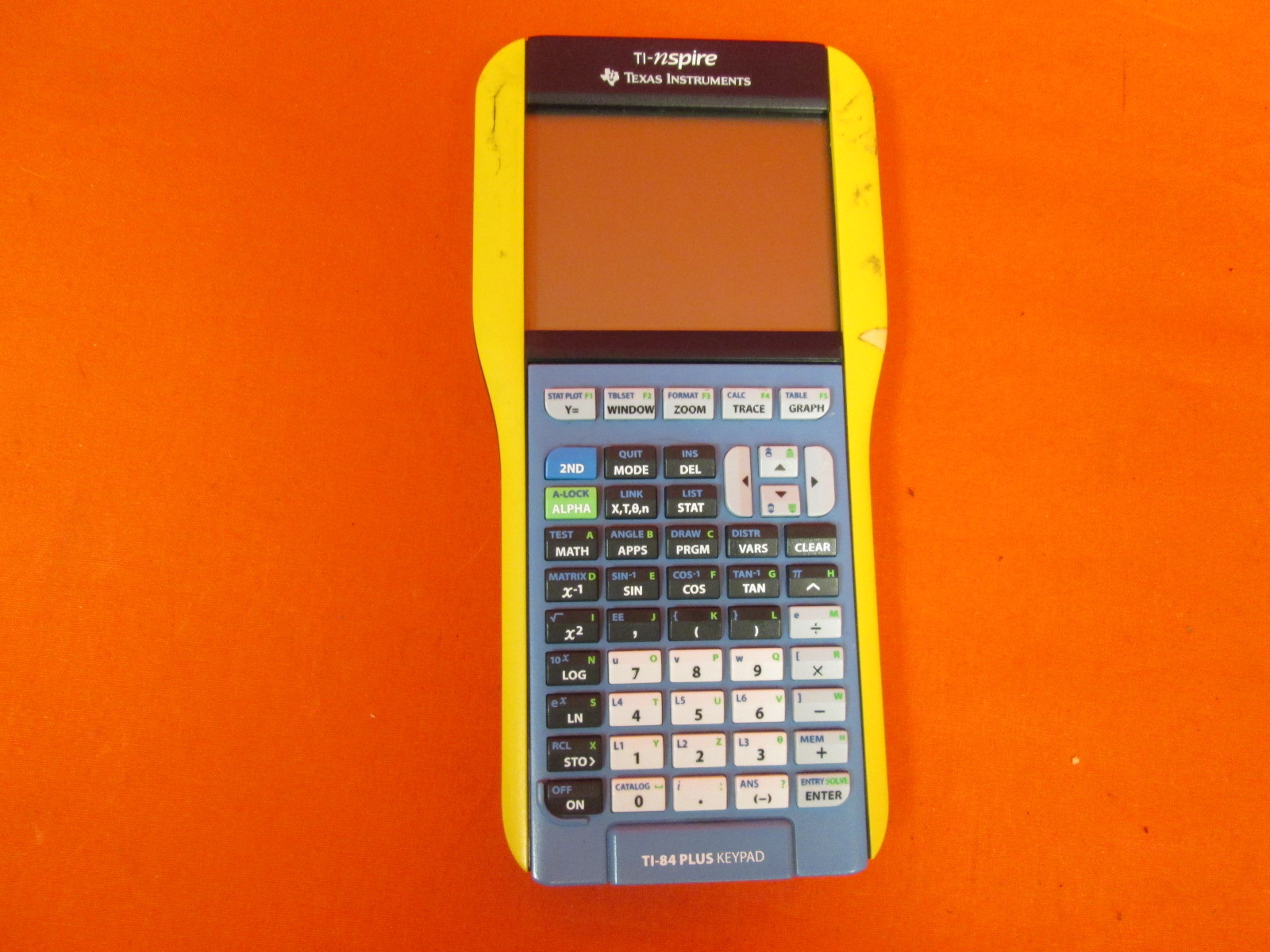 TI-84 Plus Keypad Nspire With Touchpad Calculator