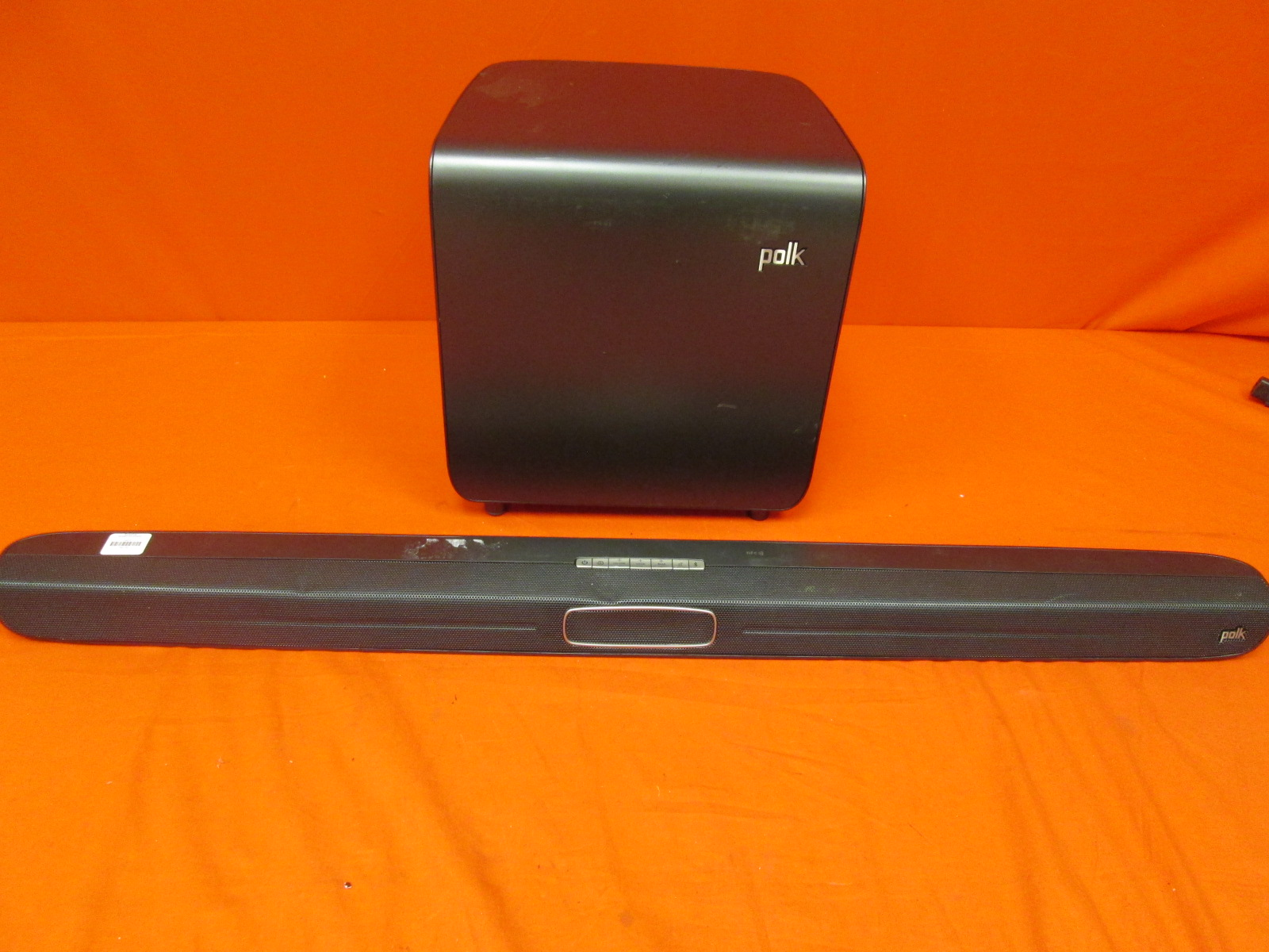 Polk Audio Magni-Fi Soundbar With Wireless Active Subwoofer Incomplete