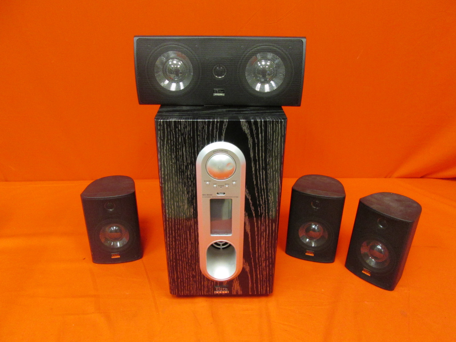 Elite Audio EA-6040 Home Theater System