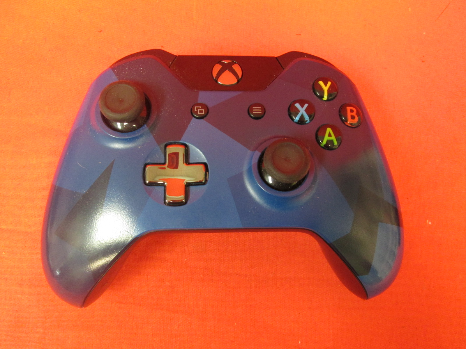 Broken Microsoft Xbox Wireless Controller Blue Special Forces For Xbox