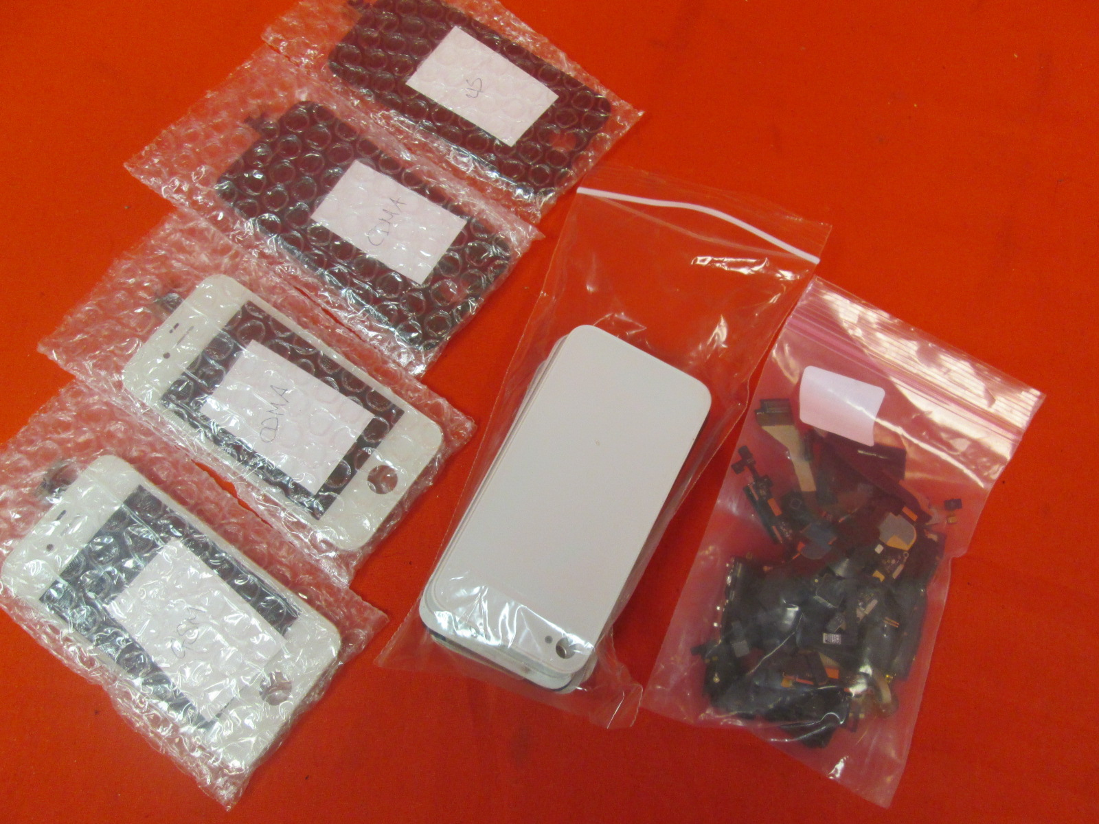 Lot Of Replacement Parts For iPhone 4