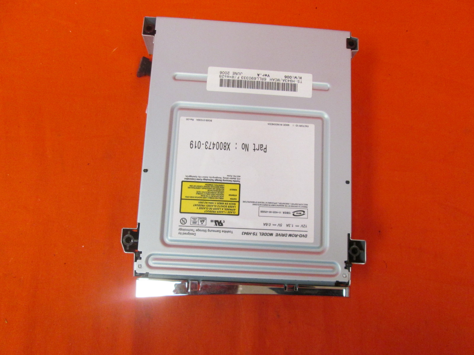Microsoft OEM Replacement Drive For Xbox 360 Model TS-H943