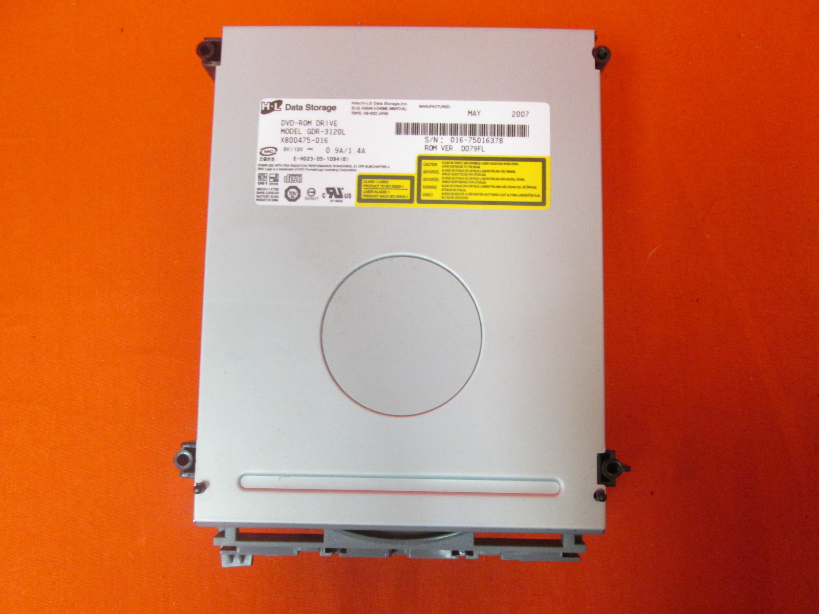 Microsoft OEM Replacement Drive For Xbox 360 Model GDR-3120L
