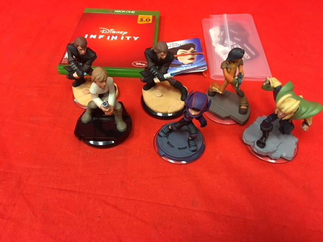 Lot Of Disney Infinity Accessories Toy